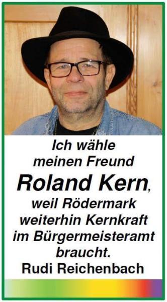 Ich wähle Roland Kern